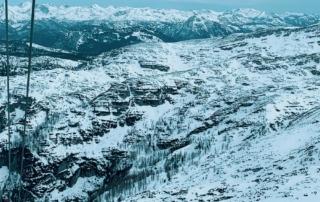 Frauenberger Panorama vom Dachstein Richtung Schladminger Tauern gestern