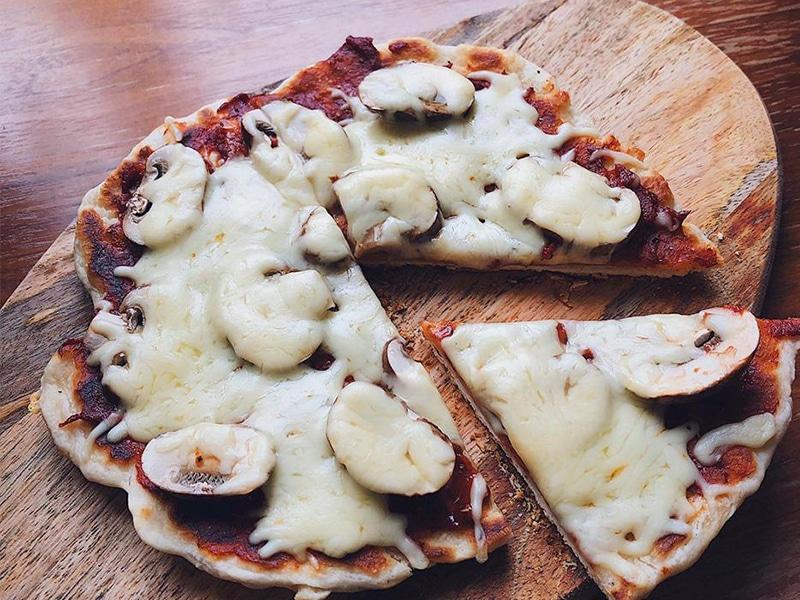 Pizza ohne Omnia