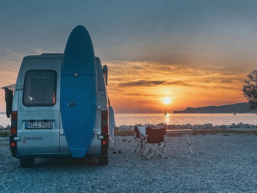 allein reisen Cool Camping