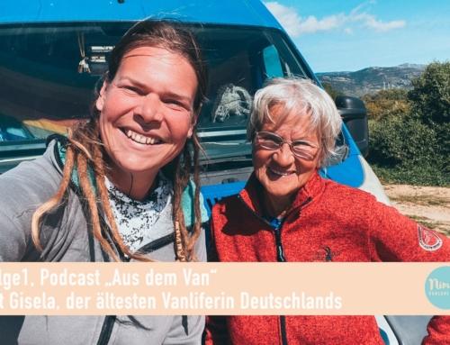 "Folge 1, ""Aus dem Van"" Podcast mit Gisela Homberg"