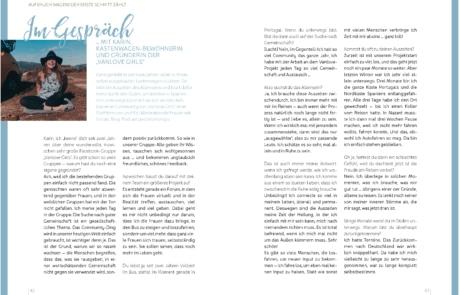 Solo Van Interview Karin Scherpe