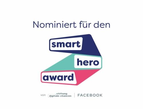 Wir sind für den Smart Hero Award nominiert
