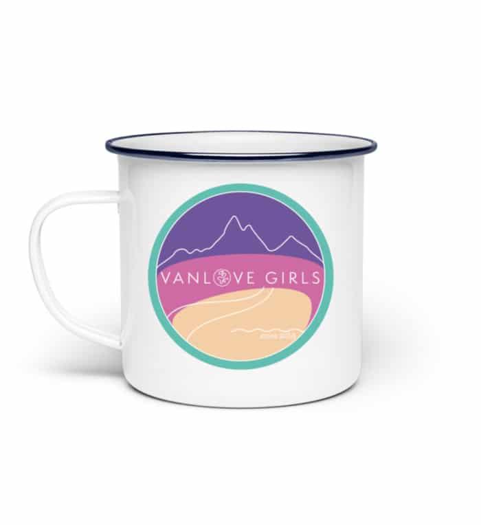 Emaille Tasse | VanLove Girls - Emaille Tasse-3