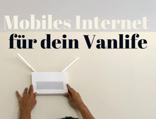 Mobiles Internet für dein Vanlife