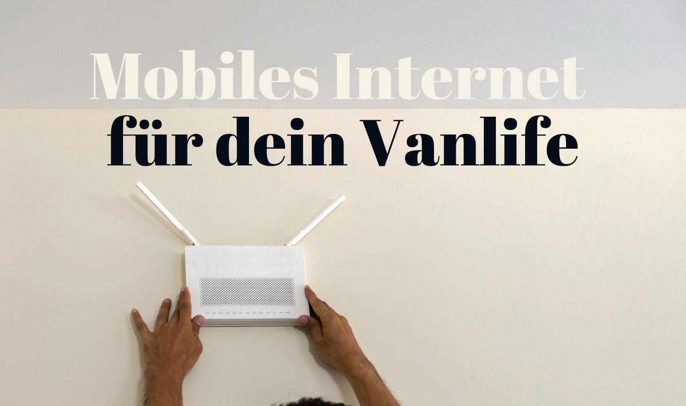 Mobiles INternet Vanlife