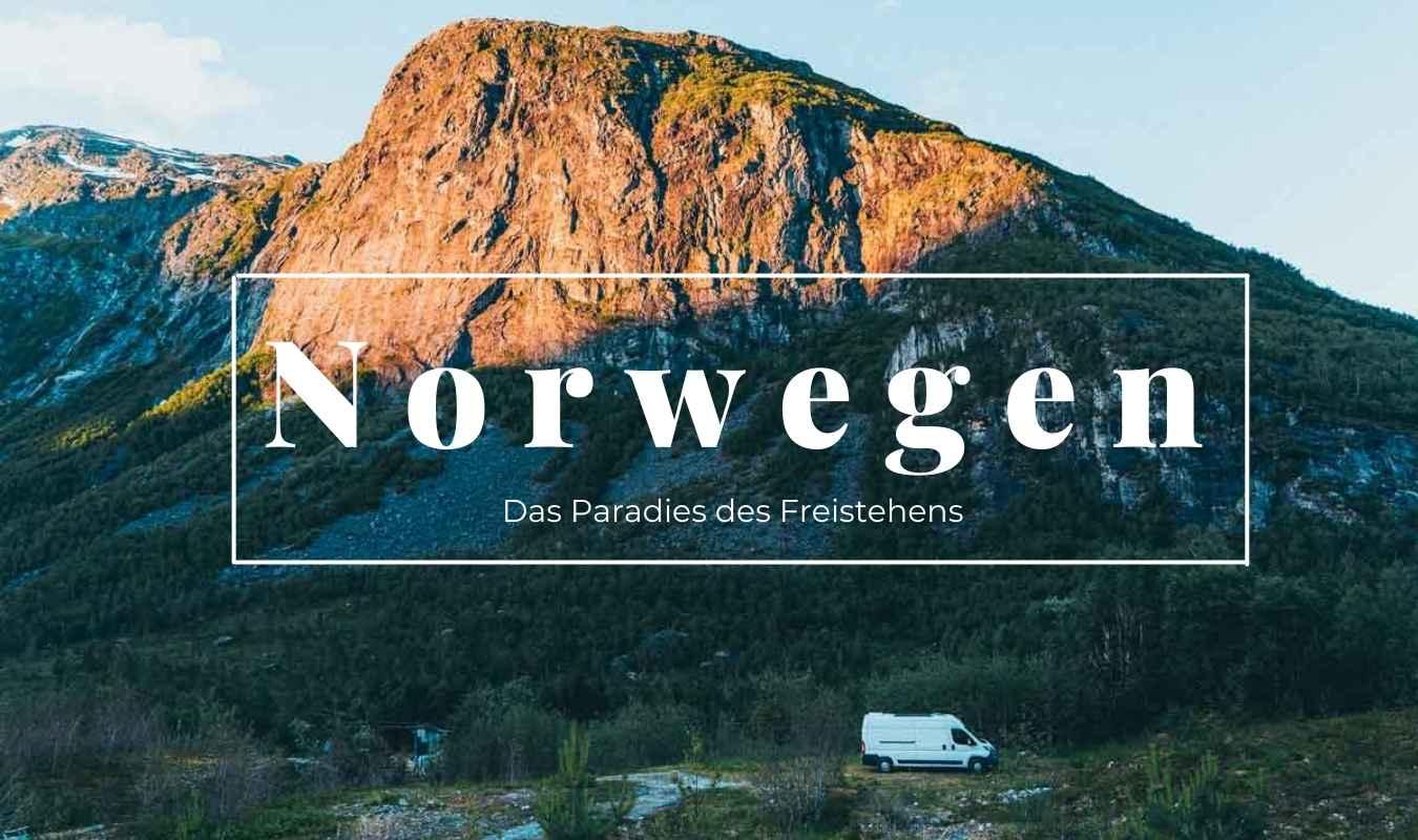 Norwegen, paradies zum Freistehen