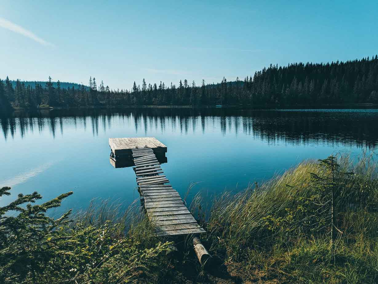 Norwegen See