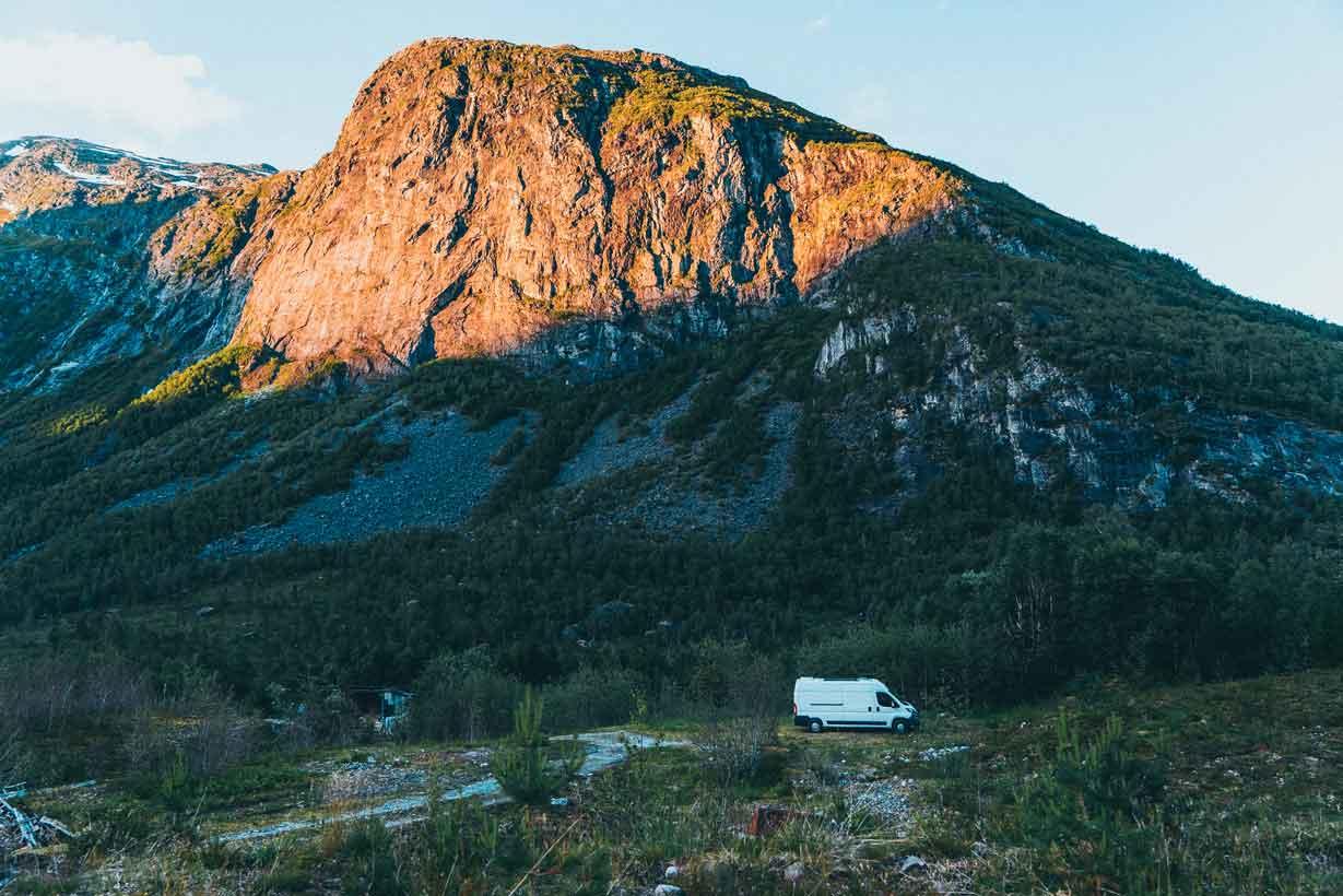 Norwegen Van