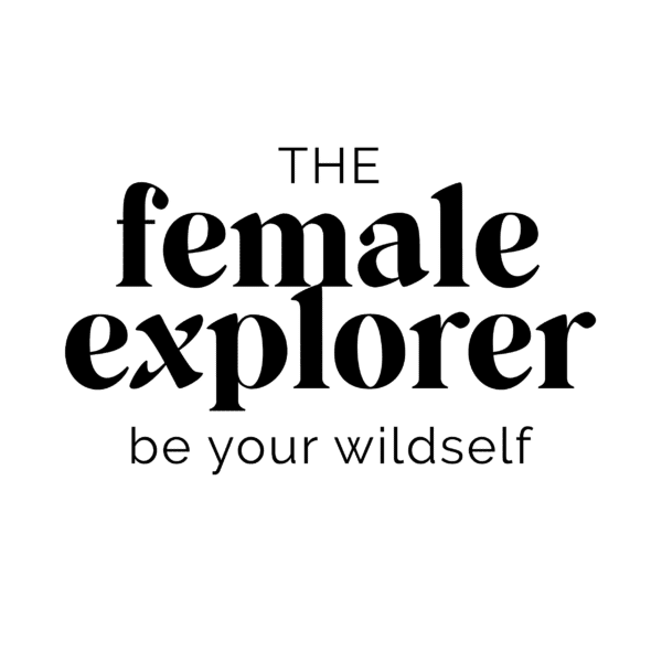 The Female Explorer Logo schwarz 600x600 1