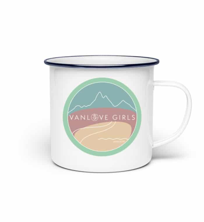 Emaille Tasse | VanLove Girls 2 - Emaille Tasse-3