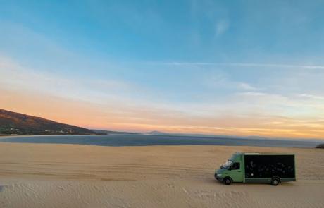 Postbus in Spanien